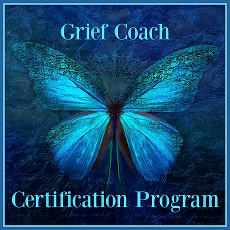 Grief Coach Certification Banner Square.