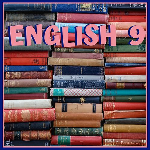 English 9