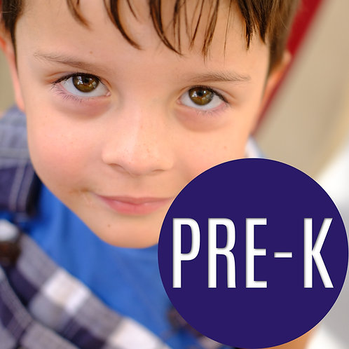 PreK (Without Teachers) FULL YEAR with 6 COURSES
