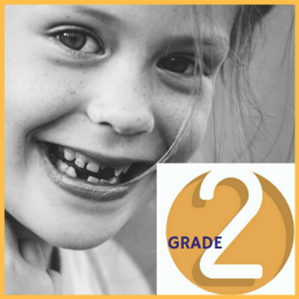 Grade 2 (With Teachers) FULL YEAR with 6 COURSES