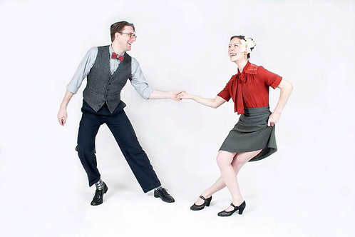 Kate Hedin - Lindy Hop - Thursday Class