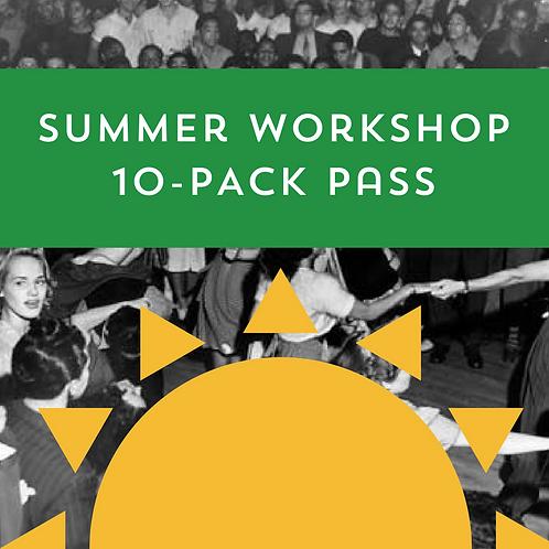 Summer Workshop 10-Pack Pass