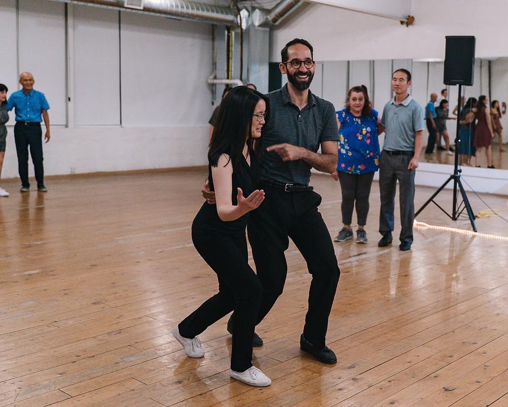 lindy hop dance lesson toronto