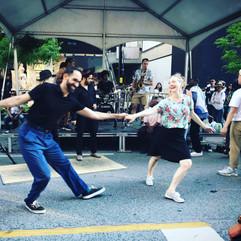 Swing Vs Street Dance Performance