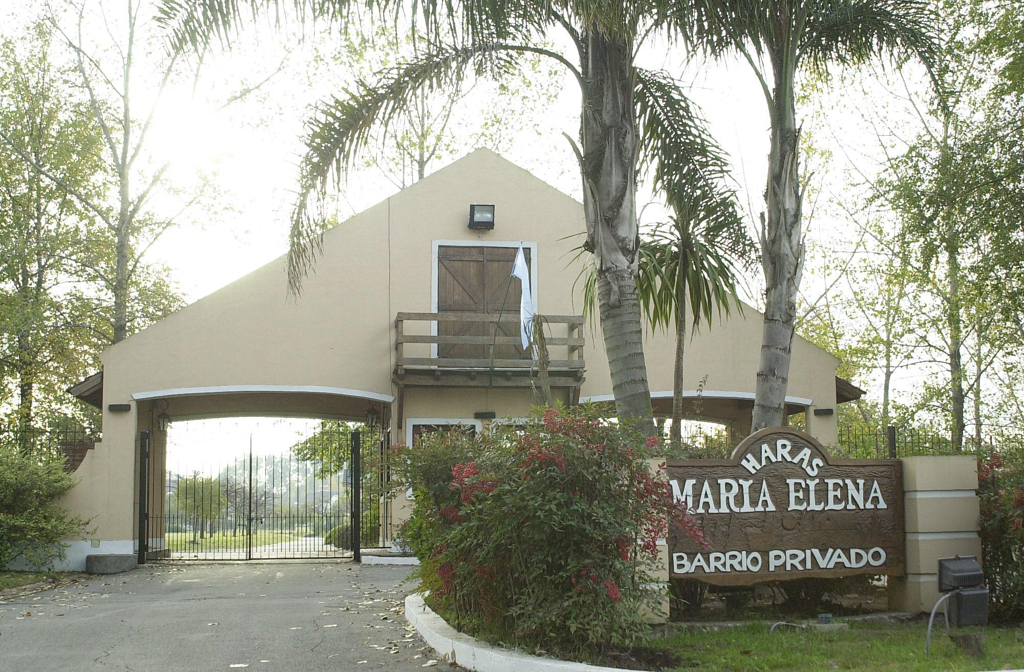 Pórtico de Entrada Haras Maria Elena