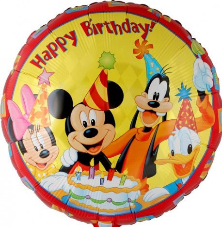 Happy Birthday - Mickey and Friends 18inch