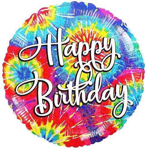 Happy Birthday - Fireworks - 18 inches