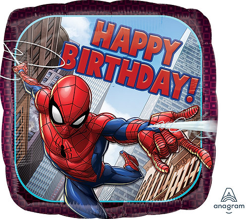 Happy Birthday - Spiderman