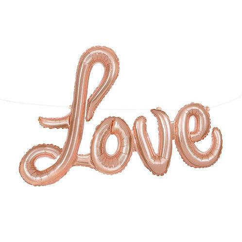Love - Rose Gold