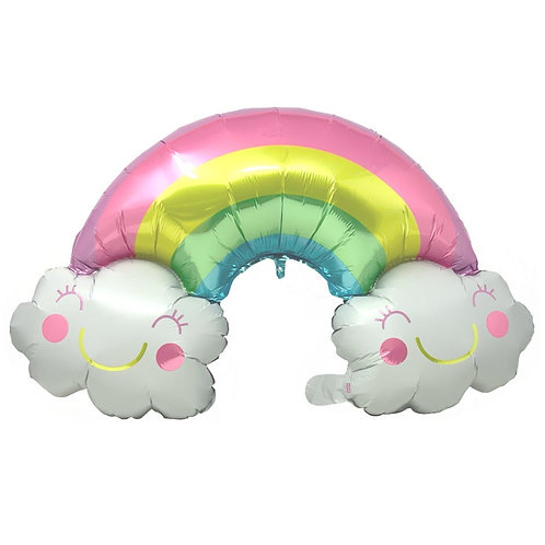 Rainbow Couds - 27 inch