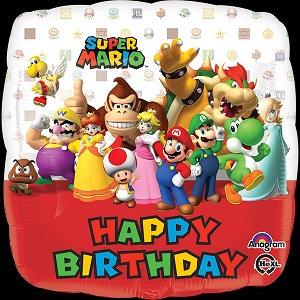 Happy Birthday -Mario Bros