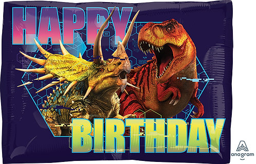Happy Birthday - Jurassic World - 16 inches