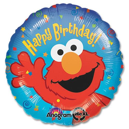 Happy Birthday - Elmo Sesame Street 18inch