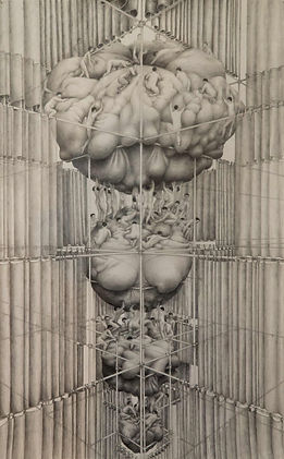 pencildrawing  curtains religious metaforical drawings