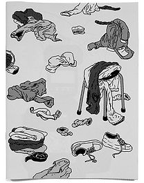 emmanuel depoorter exposure drawings Maud Vande Veire
