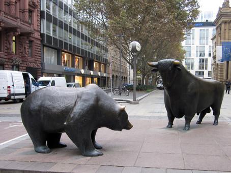 """Фондовый Рынок Падает, Nasdaq Готовит Исторический Рекорд; Любопытные 4 """"Д"""" Относительно Инфляции"""