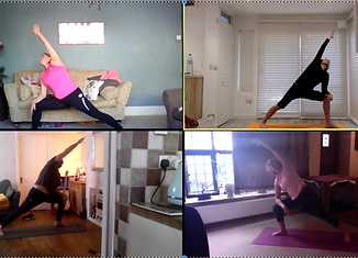 Roots yoga online extended triangle copy