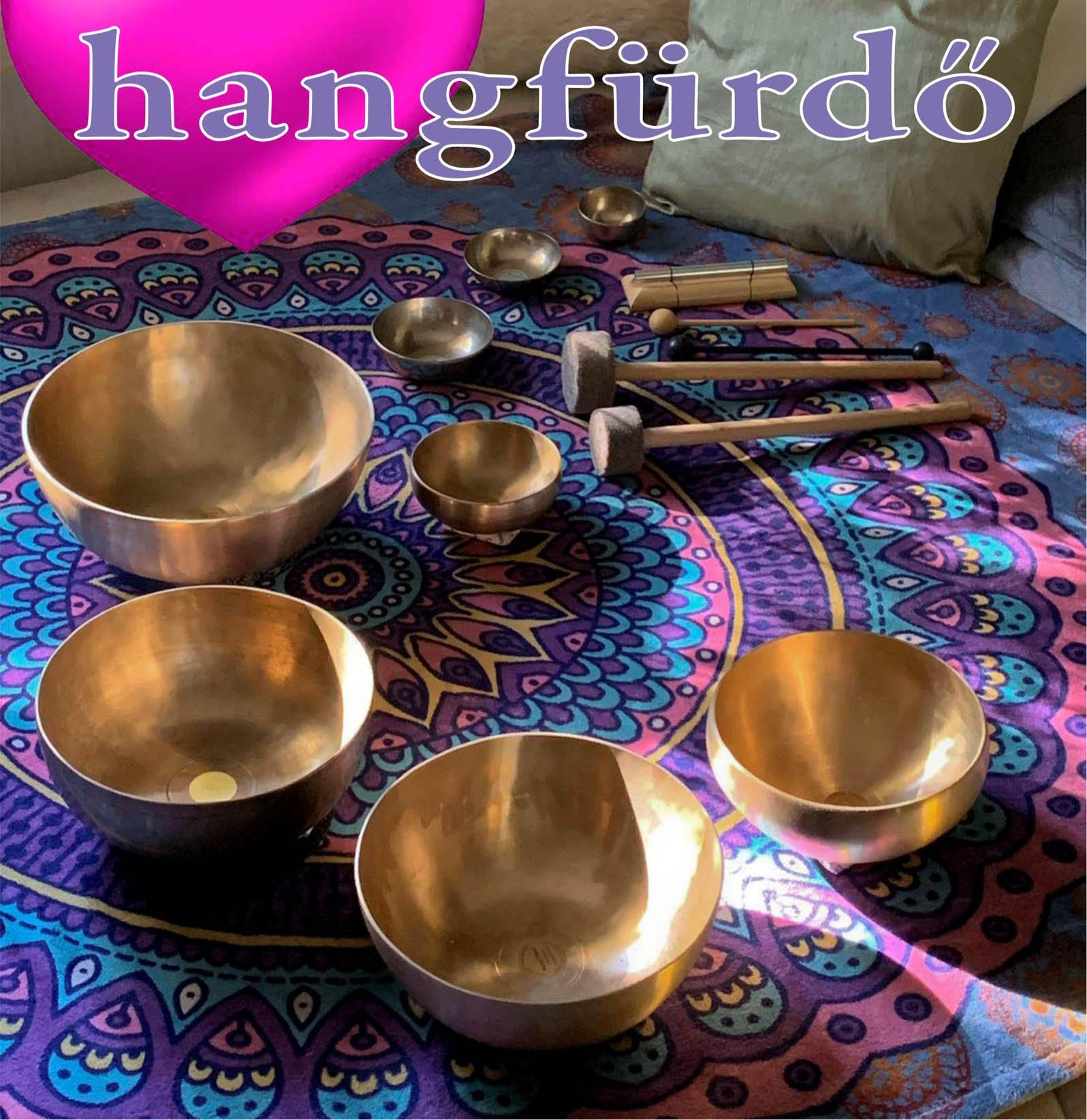 Hangfürdő hangtálakkal és gonggal