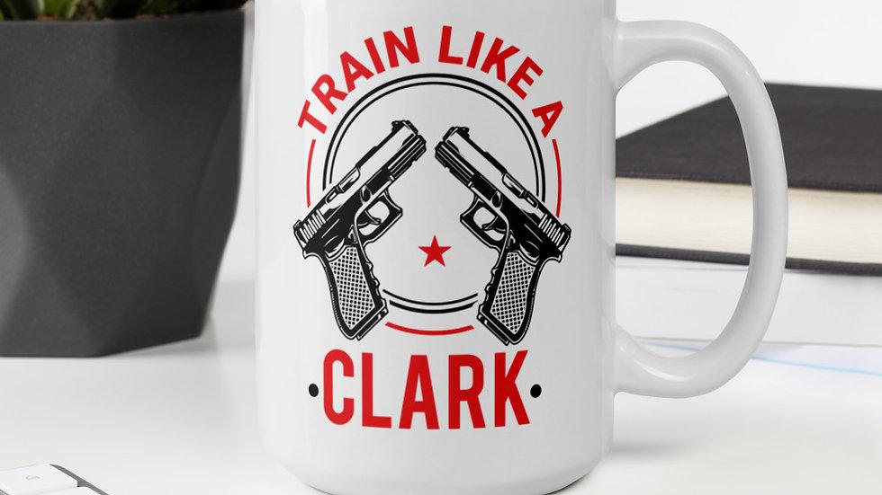 Train like a Clark glossy mug