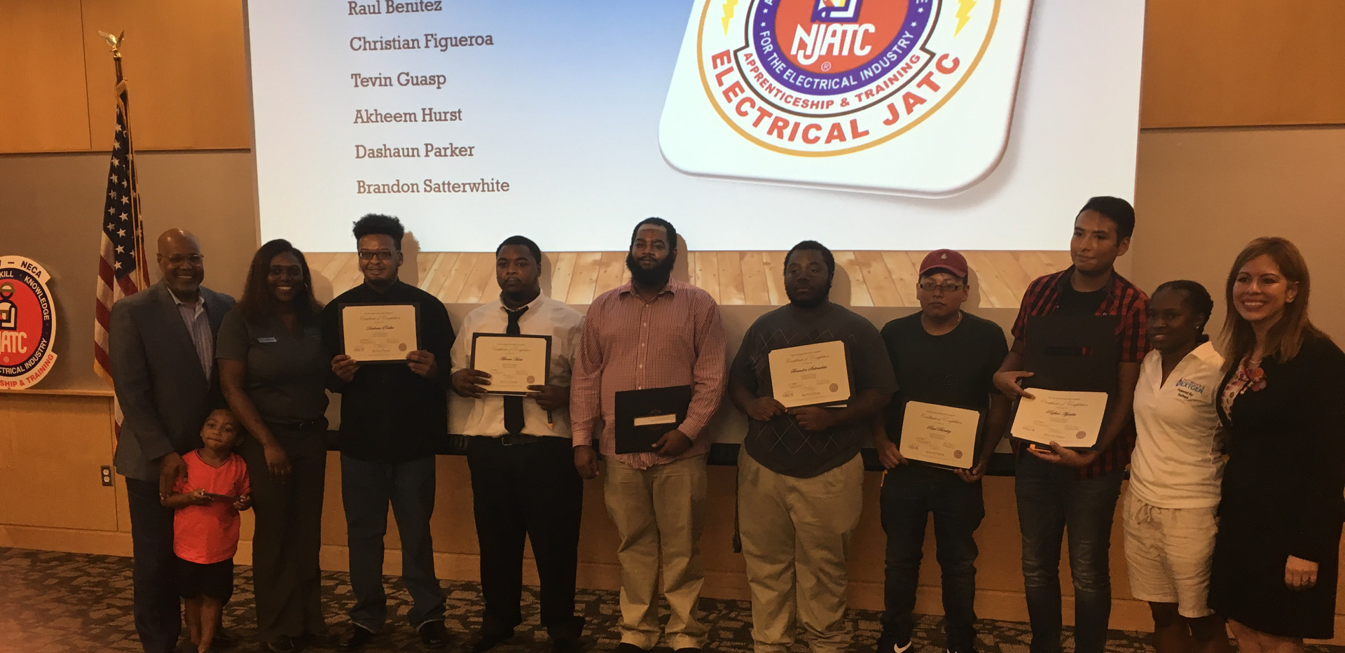 Raleigh Durham JATC Electricial Pre-Apprenticeship Graduation