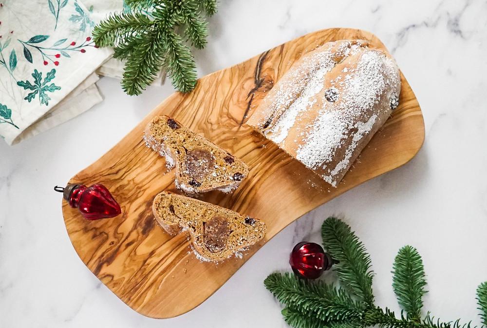 weihnachtliche Stollen-Cantuccini - selbstgemacht, vegan, glutenfrei und zuckerfrei