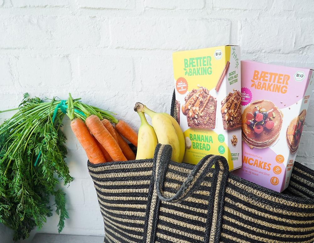 gesunde, vegane und glutenfreie Bio-Backmischungen von Baetter Baking