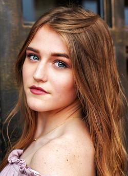 senior photography airbrush makeup