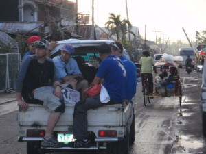 Helping in Haiyan: a man-made mission to serve