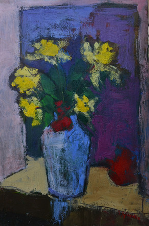 Vasetto di fiori gialli - PRIVATE COLLECTION