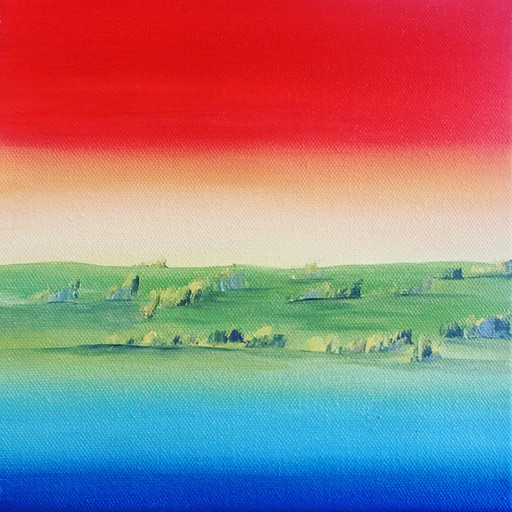 Tramonto in campagna - PRIVATE COLLECTION