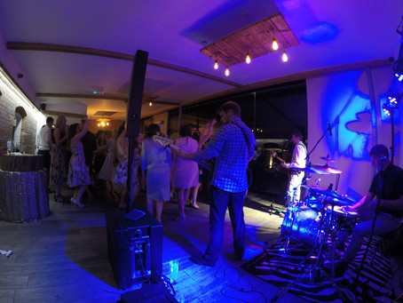 The Trio Play A Wedding At Swallows Nest Barn, Sherbourne