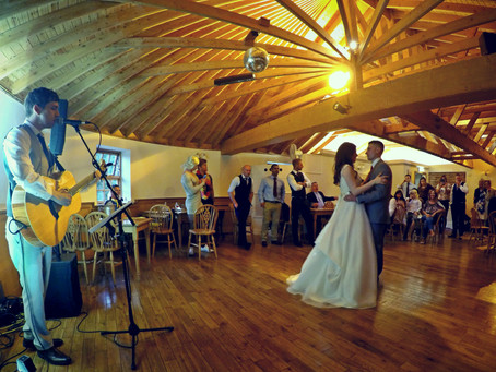 Solo Wedding Performance At The Mill Forge, Lockerbie