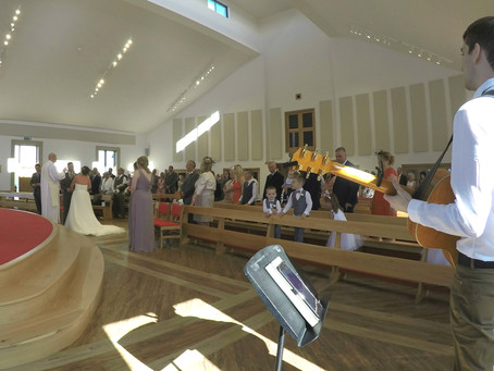 Church Wedding At Ingleby Barwick With Reception in Great Ayton