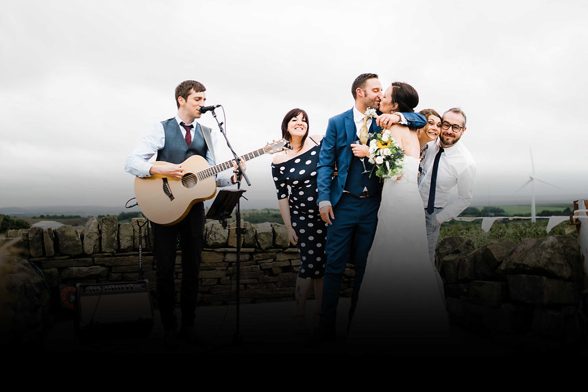Wedding entertainment ideas, prices and packages from the UK's leading acoustic wedding singer Darren Jones