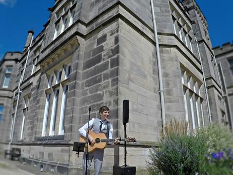 Solo Guitarist/Vocalist Wedding at Hampton Manor, Solihull