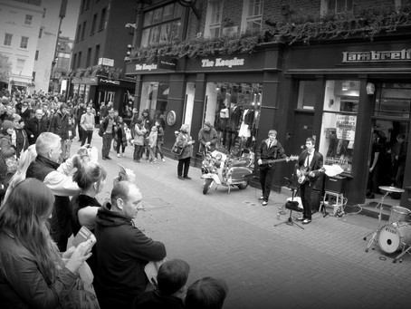 Maximum Jam Perform On Carnaby Street