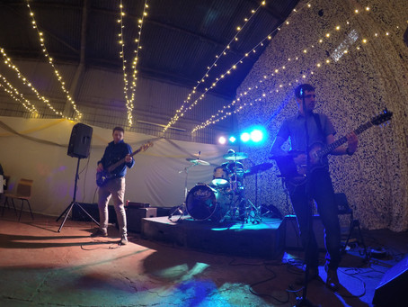 The Trio Perform at 50th Birthday Party. Spanhoe Airfield