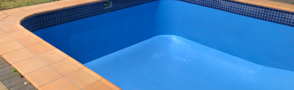After - Pool Blue
