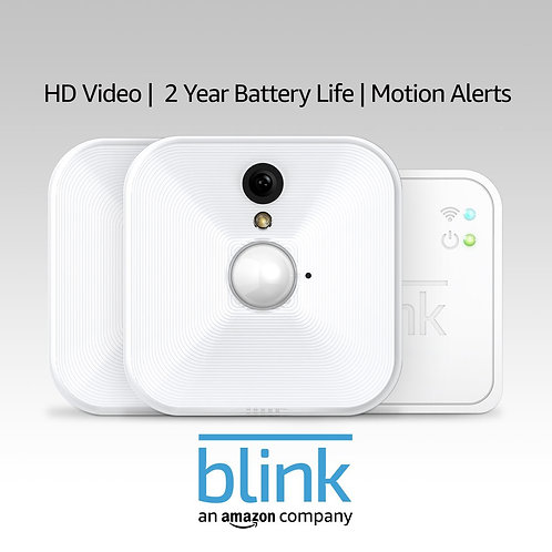 Blink Indoor Home Security Camera System with Motion Detection, HD Video