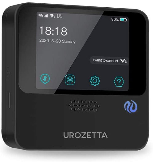 UROZETTA Mobile WiFi Hotspot with 50GB USA Data and 5GB Global Data 4G Portable