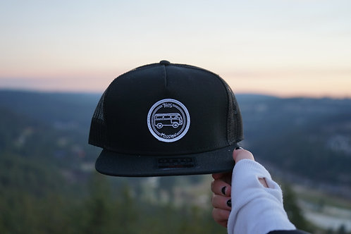 Black PatchHat