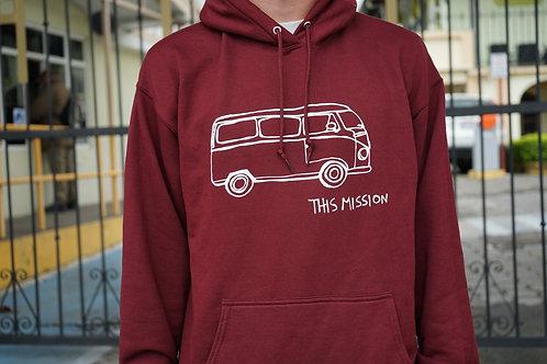 Maroon Bus Hoodie