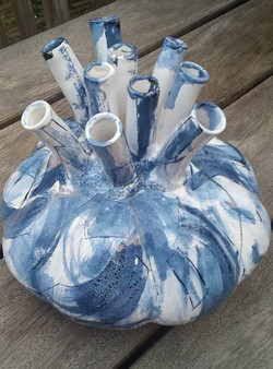 Tulpenvaas Delftsblauw