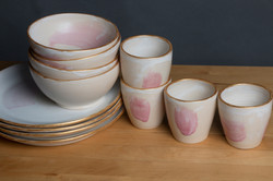 Servies Touch of pink