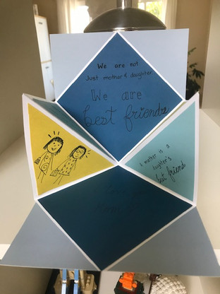 Mothers'Day pop-up card