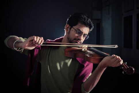 A violinist