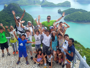 Year 6 visits Angthong Marine Park for their school trip