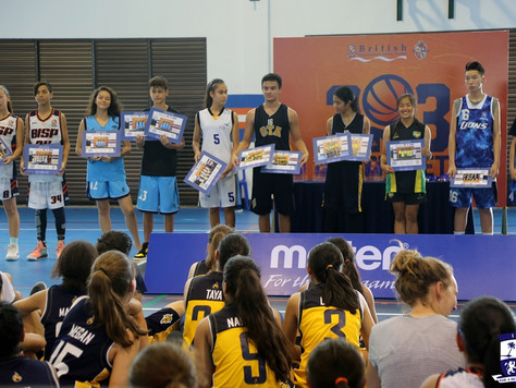 Senior students in pursuit of better basketball skills