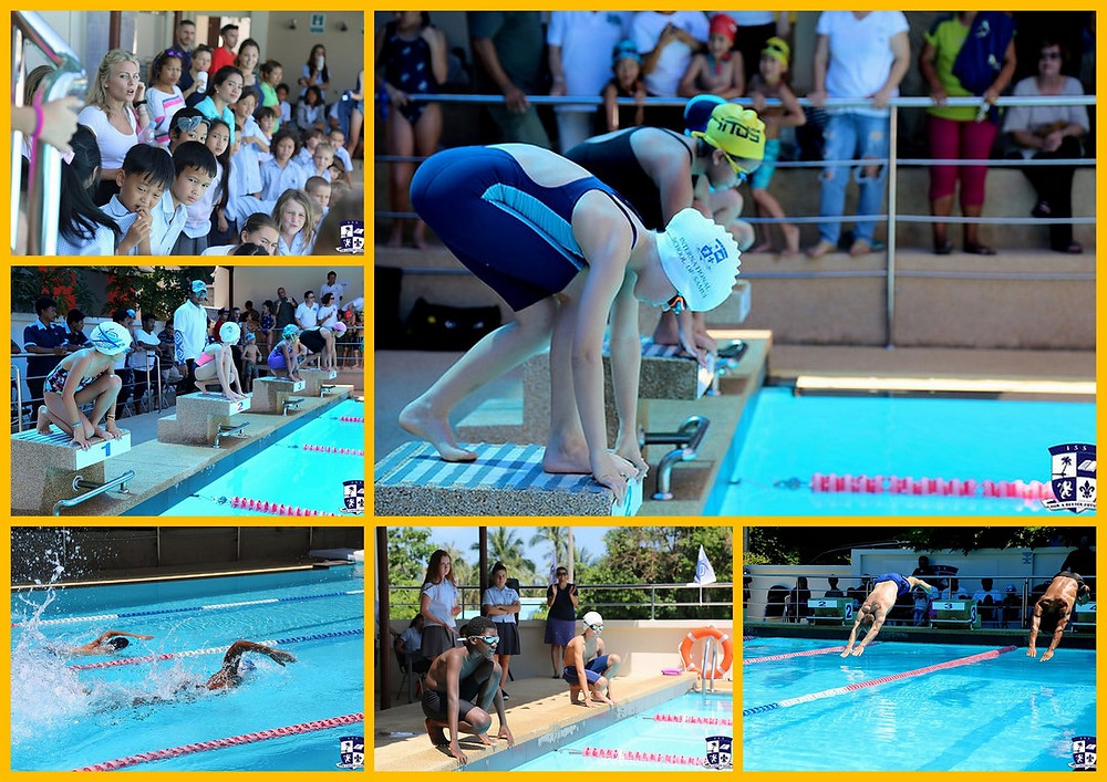 Swimming gala at ISS on 2nd March 2018