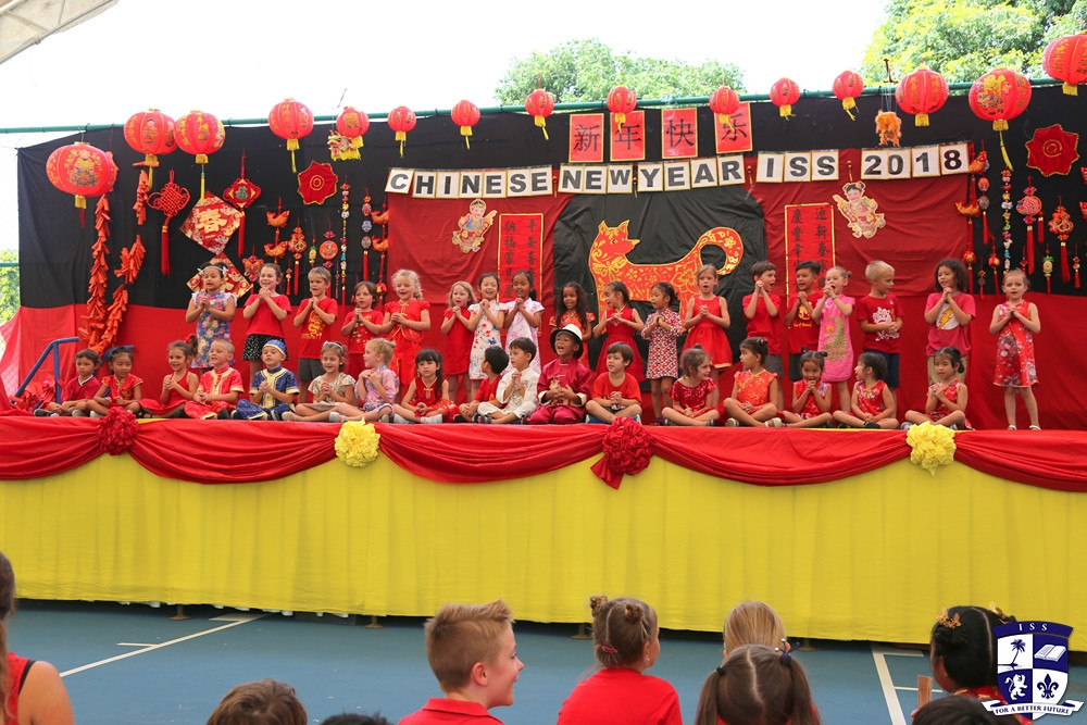 Chinese New Year celebration at the International School of Samui 2018